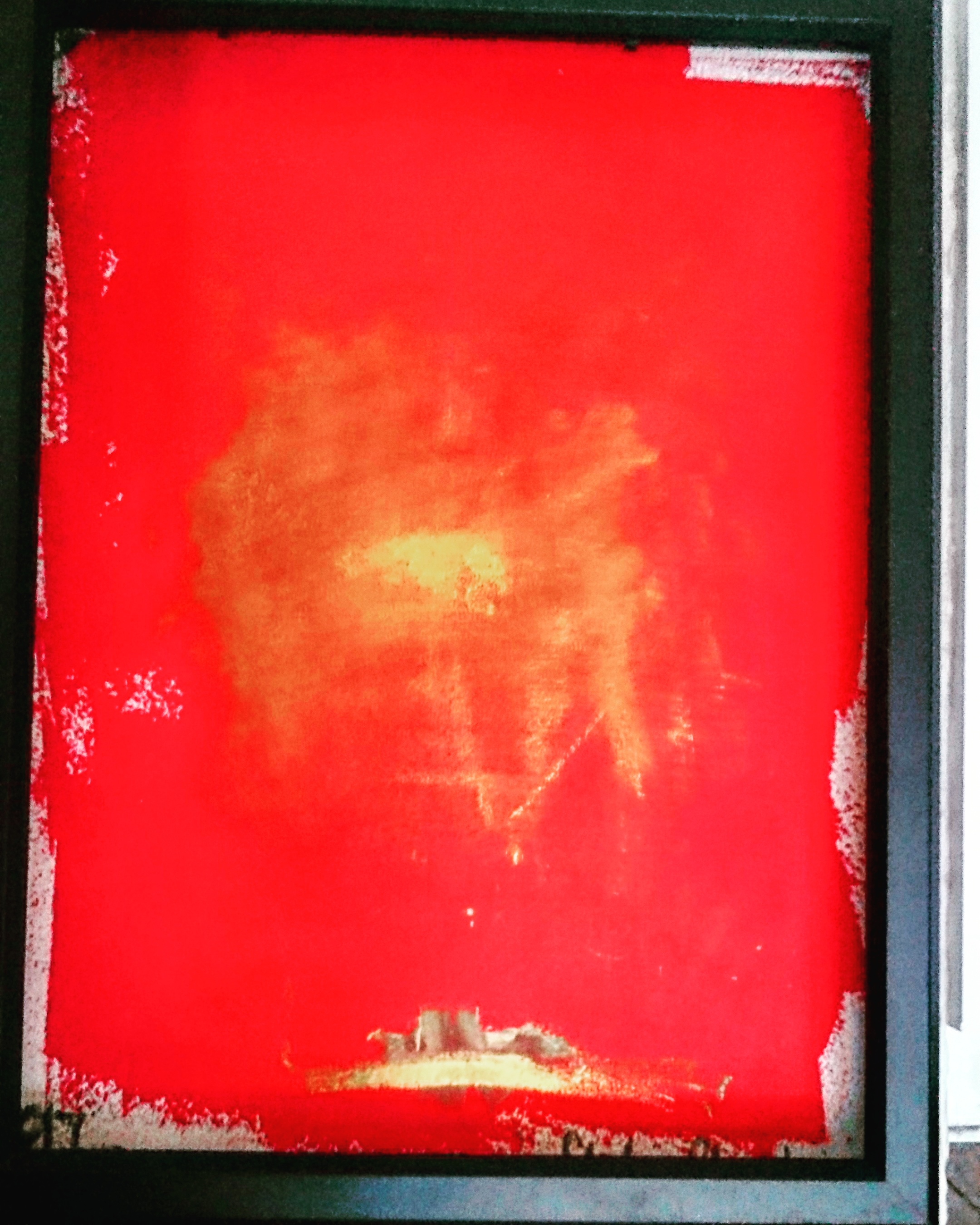 """Cover-image: """"rouge essentialles,"""" oil on handmade paper, by Stefan Chazbijewicz (c) August 2017. On exhibition by Glaza Art Gallery, Gdańsk, Poland. Used by permission."""